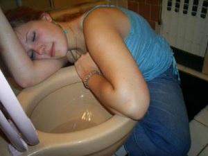 passed out girls 09 Bêbados | Fotos Engraçadas